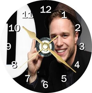 Olly Murs Novelty Cd Clock Can be personalised