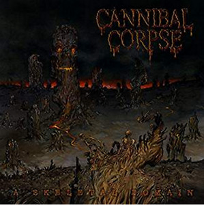Cannibal Corpse 'A Skeleton Domain' (400 copies worldwide)