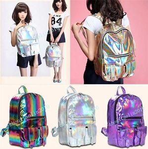 HOLOGRAPHIC-Gammaray-hologram-backpack-harajuku-shoulder-School-bag-Tote-laptop