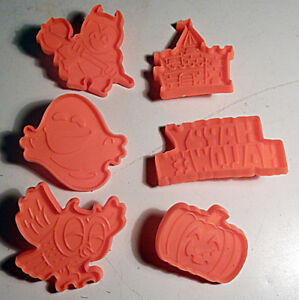 Halloween Cookie Cutters, set of 6