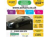 2014 BLACK MERCEDES E220 2.1 CDI AMG SPORT CONVERTIBLE CAR FINANCE FR £54 PW for sale  Warrington, Cheshire
