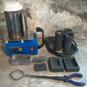 HandyMelt Electric Metal melting Furnace plus accessories