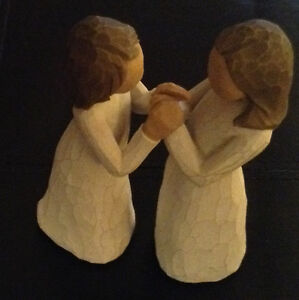 Demdaco 2-Piece Willow Tree Sisters by Heart Figurines