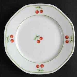 Dinner plates (6) Villeroy and Boch Chetry pattern