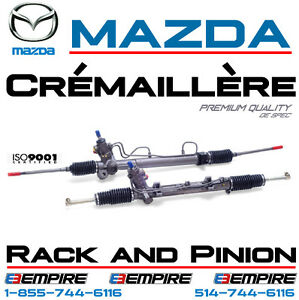 Crémaillère ► Mazda 323 • Mazda 626 •Mazda 929 ► Rack and Pinion