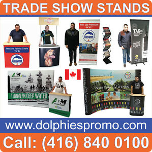 ANY Size Trade Show Event Pop Up Booth Banner Stands Displays