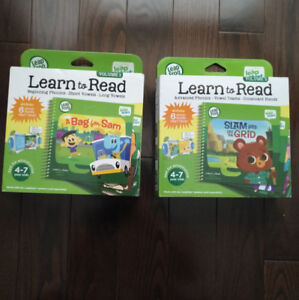 LeapFrog Learn to Read books