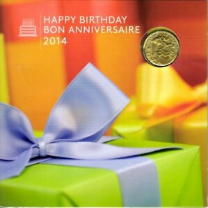 MONNAIE / COINS / 2014 / HAPPY BIRTHDAY / 1 set /