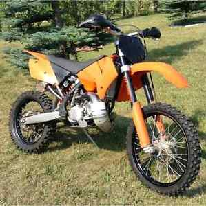 2006 KTM 200 XCW. Trade for dual sport