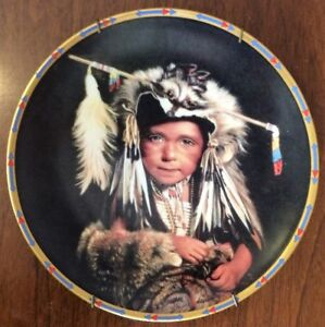 1993 Feathers & Furs - in Children of The Sun & Moon by Lenox