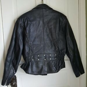 Ladies Leather Riding Jacket
