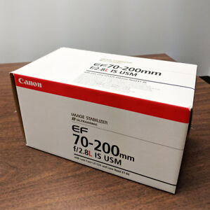 Canon EF 70-200mm f/2.8L IS USM Telephoto Lens