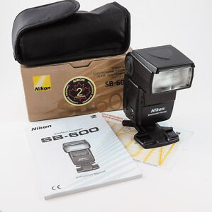 Nikon Nikkor SB600 Flash Speedlight