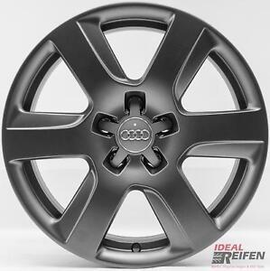 4-original-Audi-A6-4g-C7-17-Pulgadas-Llantas-4g0601025l-7-5x17-Et37-TITANIO