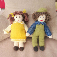Hand Knit Dolls - Boy and Girl - NEW City of Montréal Greater Montréal Preview