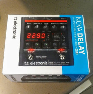 NOVA DELAY (ND-1), by TC Elec  Brand NEW In BOX w Bonus