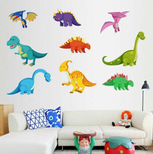 Home Decoration - Cute Dinosaur Wall Stickers Kids Boys Nursery Home Decor Art Mural Wall Decal