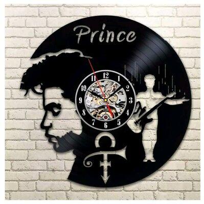 Prince Symbol Wall Clock  Album  Vinyl
