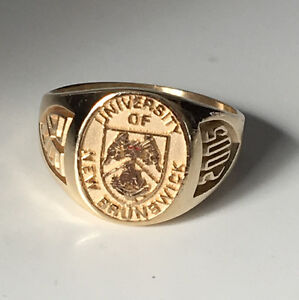 10K Yellow Gold UNB Ring Gents 2005 BBA