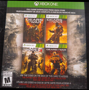 XBOX ONE GEARS OF WAR 5 GAME SET