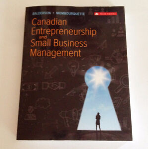 Canadian Entrepreneurship and Small Business Management 10th Ed.