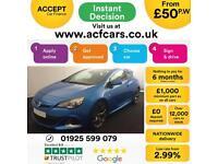 2014 BLUE VAUXHALL ASTRA GTC 2.0 VXR PETROL 3DR HATCH CAR FINANCE FR £50 PW