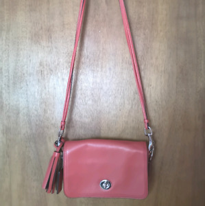 Coach sac à main rouge red crossbody bag