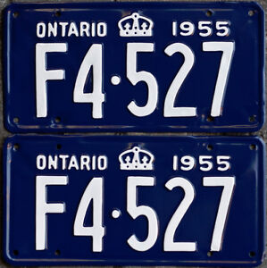 YOM Licence Plates For Your Old Auto - Ministry Guaranteed! Windsor Region Ontario image 6