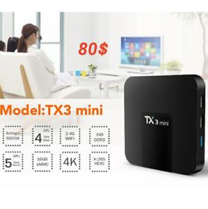 TX3 Mini Android TV box...