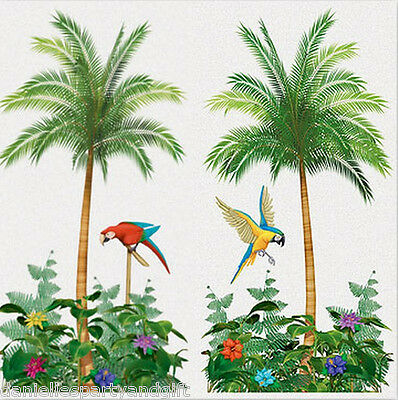 Palm Tree Scene (Palm Tree Scene Setter Wall Decoration Kit -)