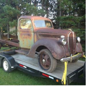 1938 Ford 2 ton dually all original no damage