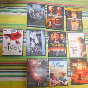 Various movie Dvds $ 2 each, smaller floor DVD rack $ 3 Kitchener / Waterloo Kitchener Area image 2