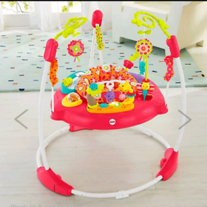 EUC Fisherprice Jumperoo Petals Bouncer