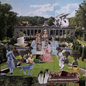 """4x4 """"The Ideal Garden Party"""" Photo Collage Print"""
