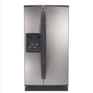 Stainless Steel Whirlpool Gold Side By Side Refrigerator