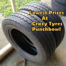 15 inch Second Hand  Tyre For Van & Ute Fr $31 Each @ Crazy Tyres Sutherland Sutherland Area Preview