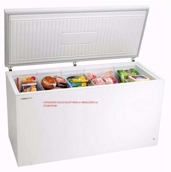 FREEZER 485L ECO1 B/NEW R4650.00