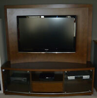 TV Entertainment Stand Unit made for Flat Screen LED LCD Plasma