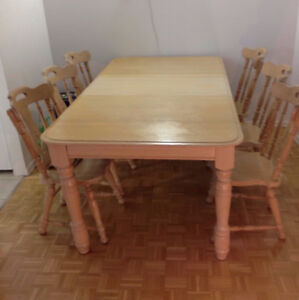 Dinning Table + 6 Chair