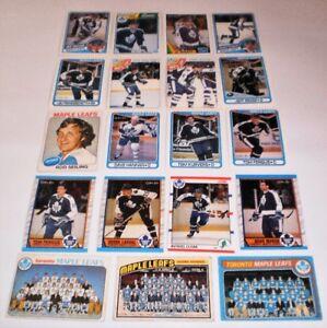Toronto Maple Leafs  19 hockey cards