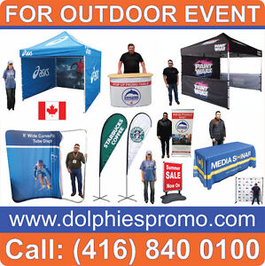 Marketing Event COMMERCIAL Grade Pop Up Custom TENT Tents FLAGS