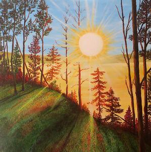 Original acrylic paintings by Diane Soward Canadian Artist Kawartha Lakes Peterborough Area image 3