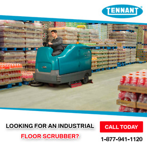 Looking for a Floor Scrubber or Floor Sweeper?  You found it!!