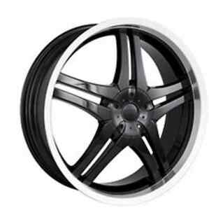 "20"" DIP DAGGER RIMS with tires London Ontario image 10"