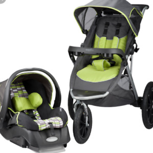 Evenflo victory jogging travel system..