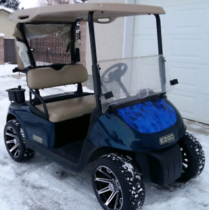 Custom EZ-GO RXV Gas Golf Cart