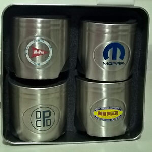 MOPAR 75th Anniversary 4 Piston Shaped Insulated Can Cooler