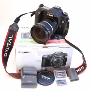 CANON 40 D with EF-S 10-22 mm 3.5 - 4.5 USM LENS ALMOST NEW