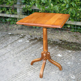 Small Wooden Breakfast Table