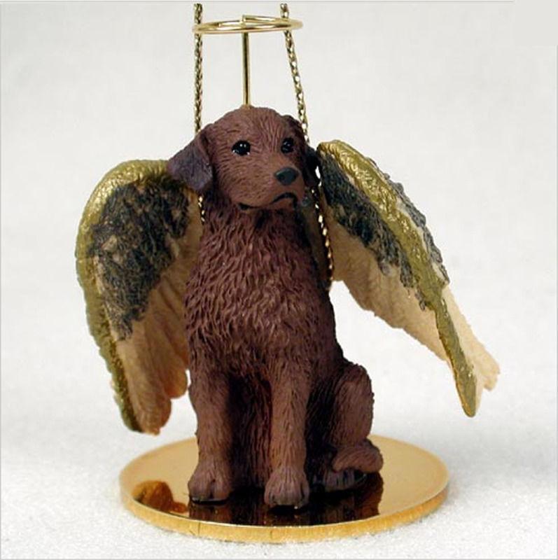 Chesapeake Bay Retriever Ornament Angel Figurine Hand Painted